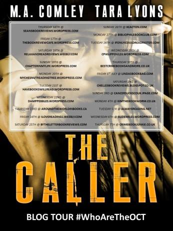 THE CALLER_Blog tour promo (1)
