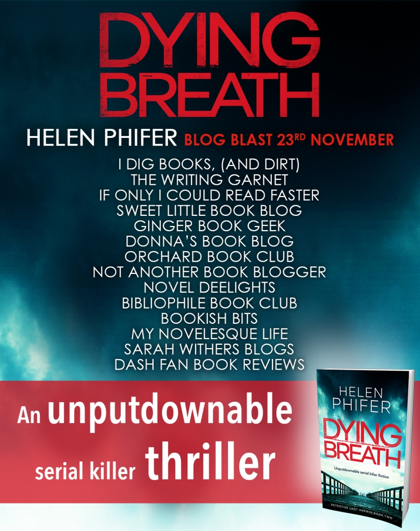 Dying Breath - Blog Tour