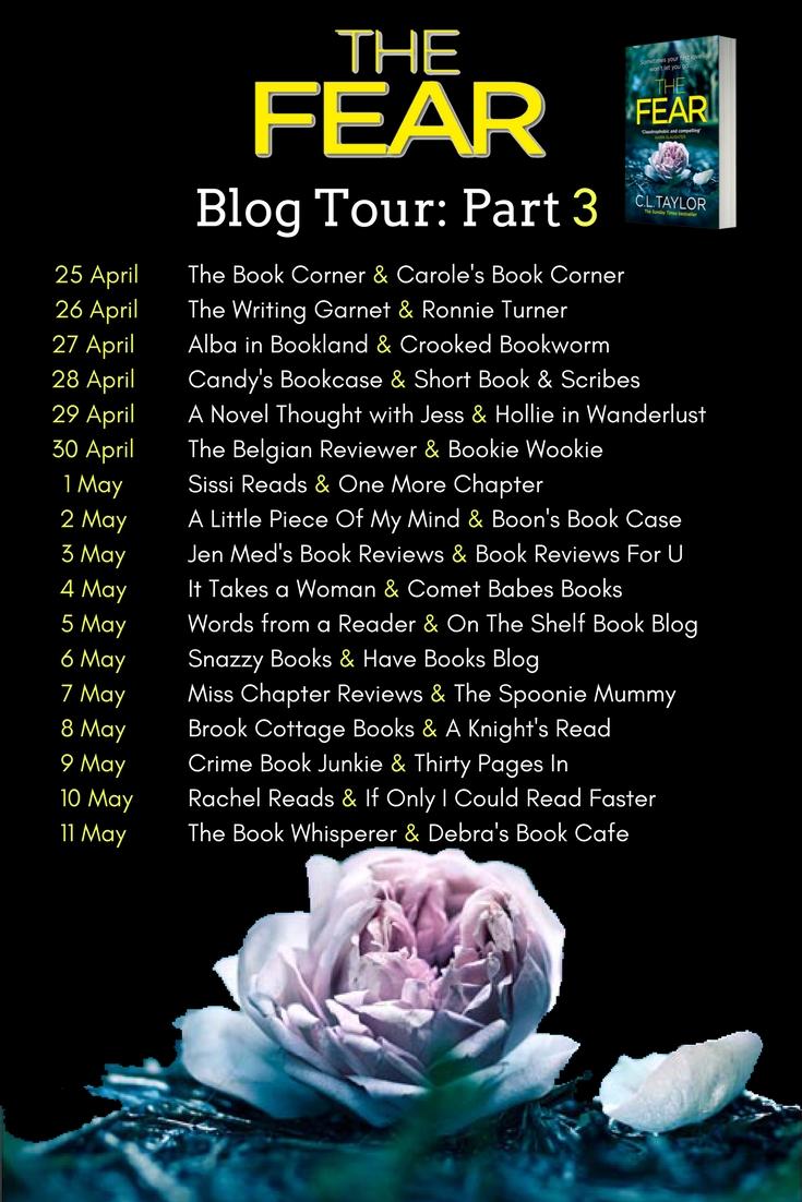 The Fear - Blog Tour Banner - Part 3