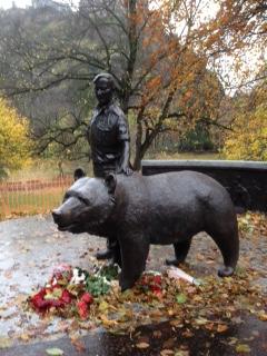 The Wojtek Monument