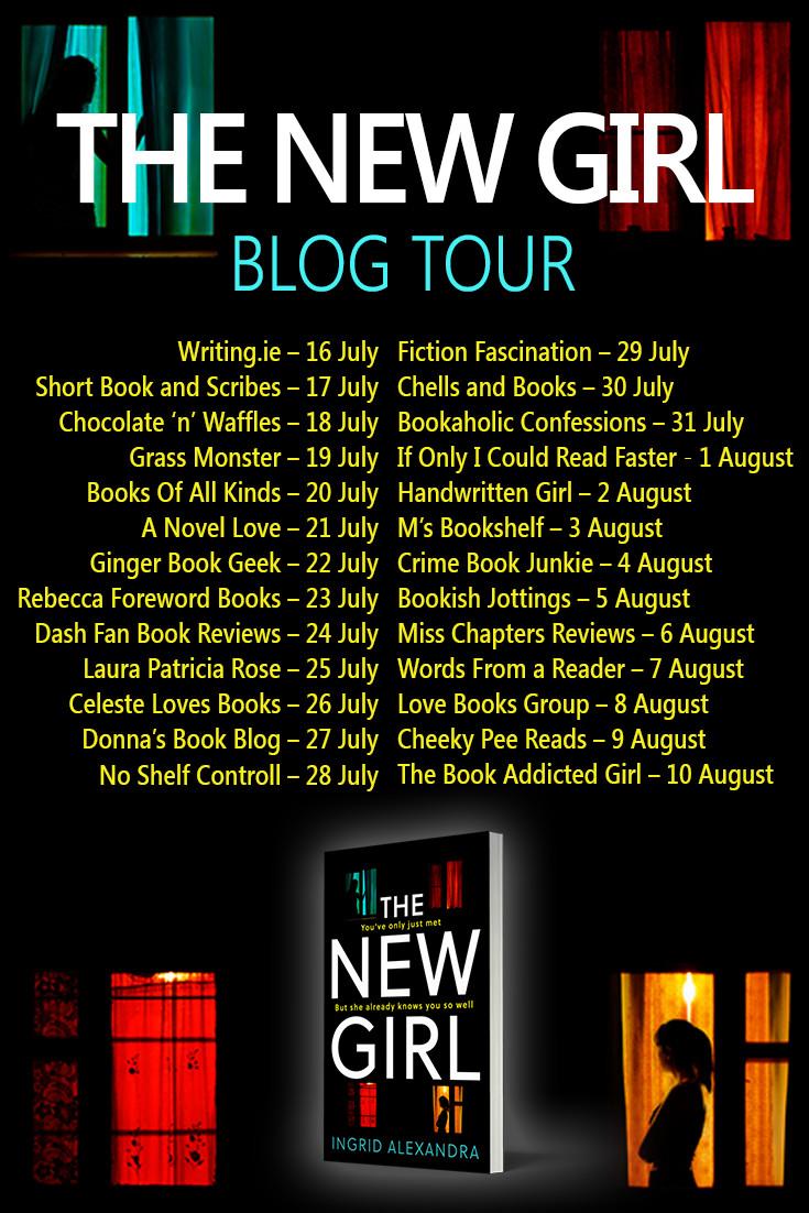 The New Girl Blog Tour Banner