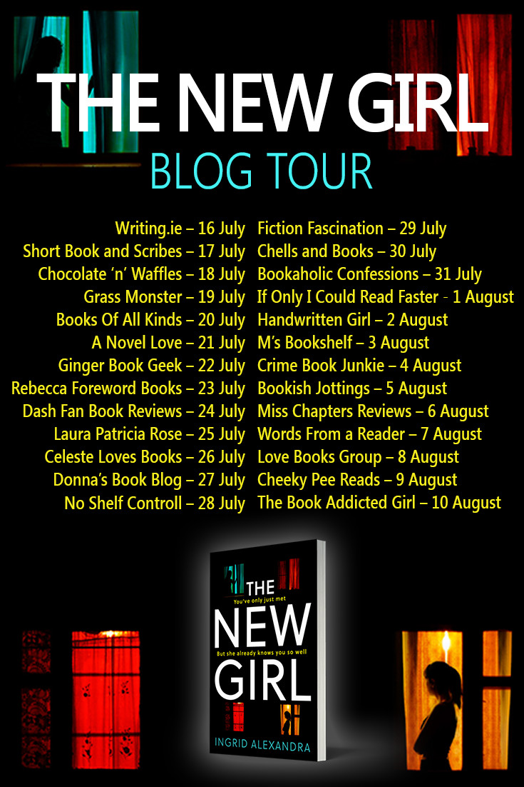 The New Girl Blog Tour Banner