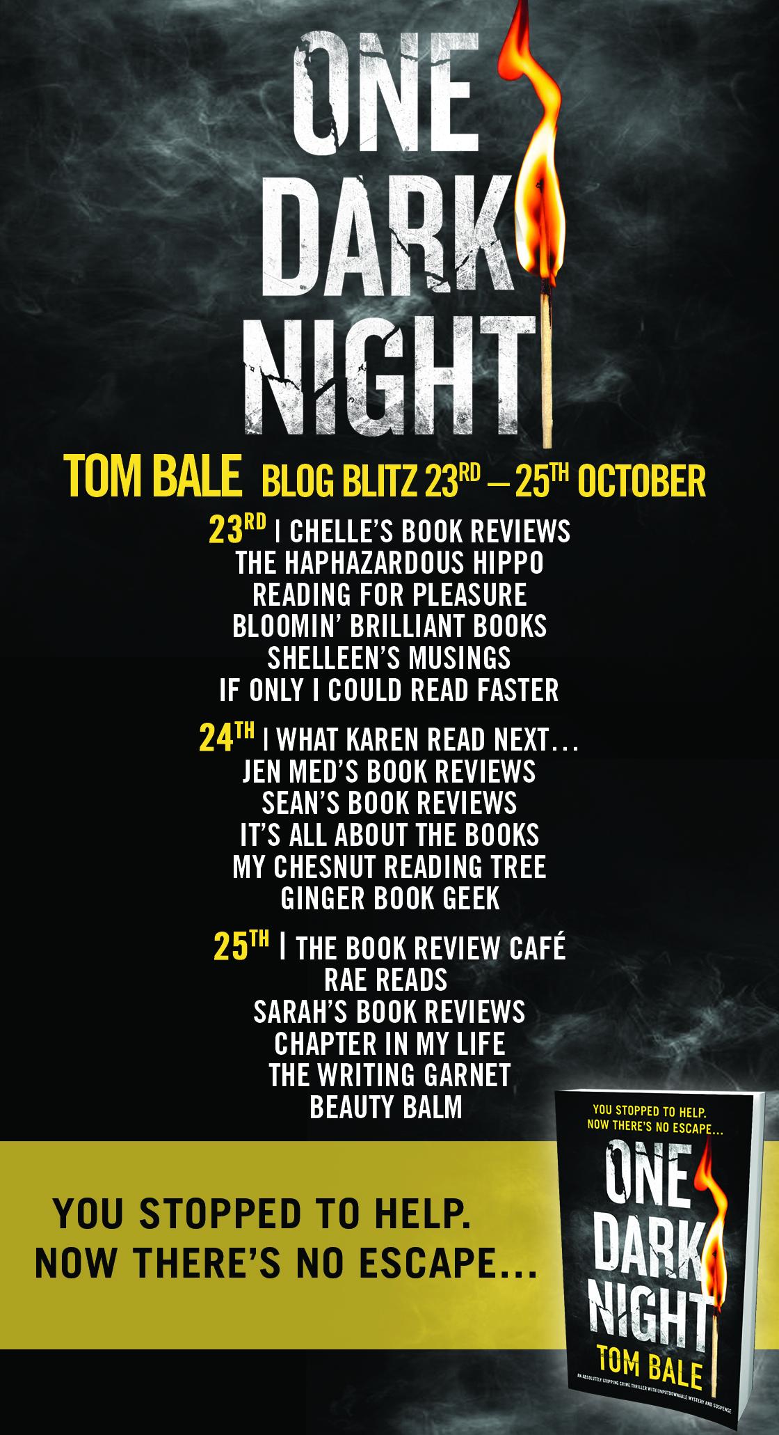 One Dark Night - Blog Tour