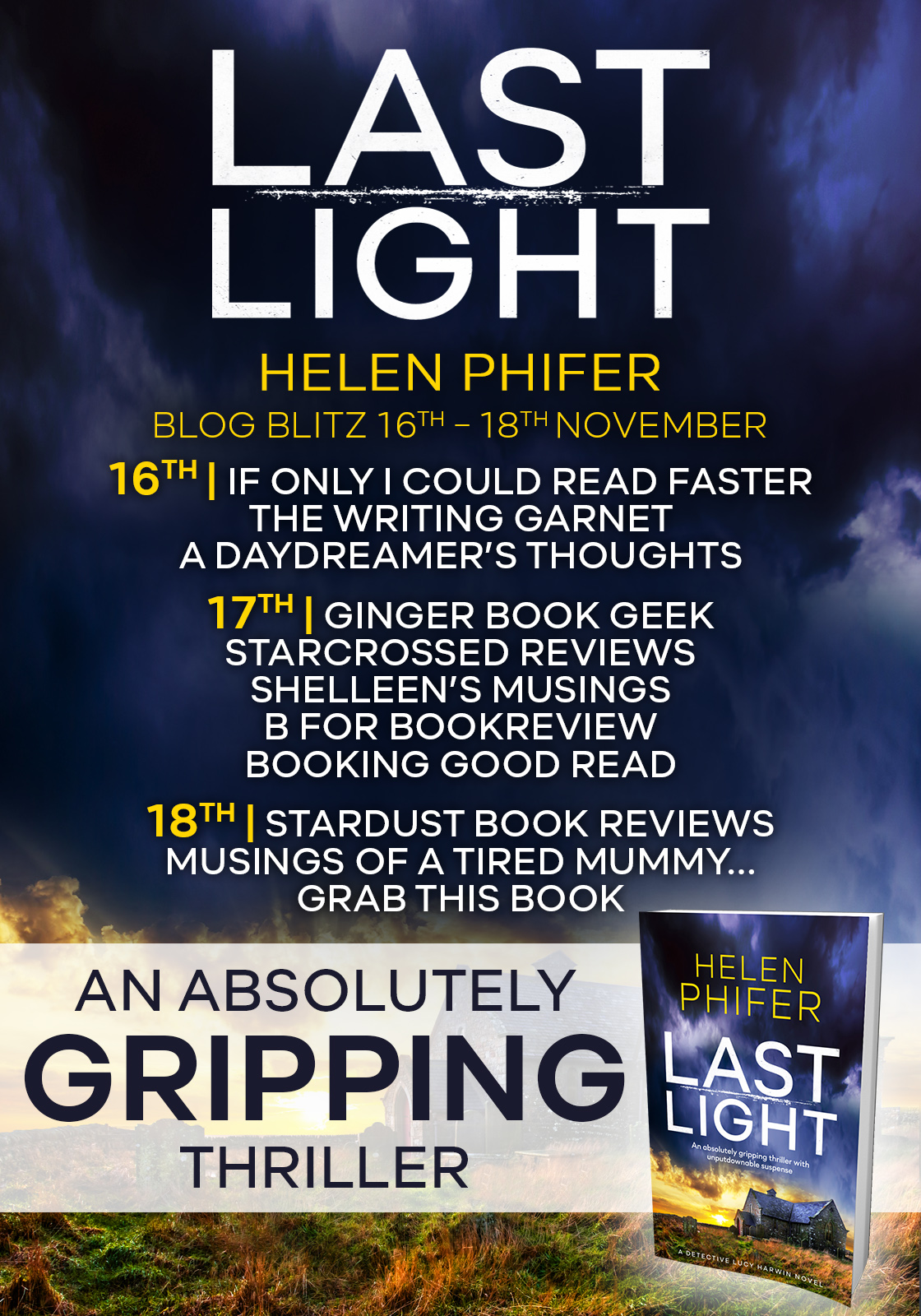 Last Light - Blog Tour